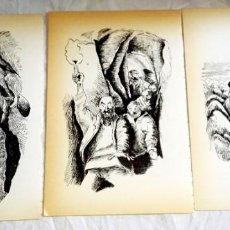 Arte: ILUSTRACIONES DE ANTONIO LENGUAS 1988 / EXTRAÍDAS DE LIBRO - 19X12,5CM. Lote 148413346