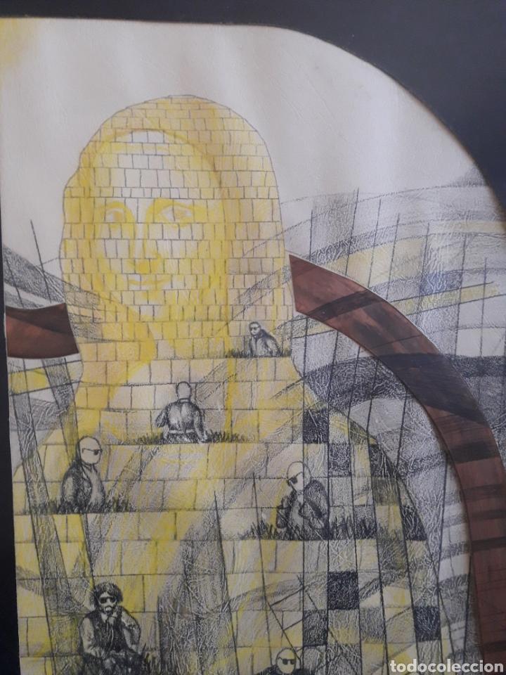 Arte: Técnica mixta. Firmado ilegible. - Foto 3 - 148418958