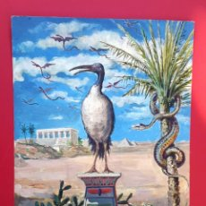 Arte: IBIS - ACUARELA Y TINTA - 1886. Lote 148765266