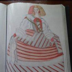 Arte: DIBUJOS, 60, SOBRE LA MODA EN LA HISTORIA. Lote 148971146