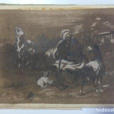 Arte: ALBÚM DE SEÑORITA DE SEVILLA DE 1868 , CON DIBUJOS Y POEMAS ORIGINALES , DEDICADOS A LA MISMA. Lote 149829110