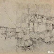 Arte: RAMON ALVAR SUÑOL - DIBUJO - FIRMADO. Lote 151064050