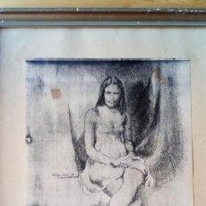 Arte: RODRIGO VIVAR PINTOR MALAGUEÑO 1974. Lote 151099789