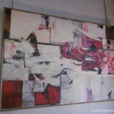 Arte: ABSTRACTO. COLLAGE SOBRE CARTON ENCOLADO EN TABLA.. Lote 151312182
