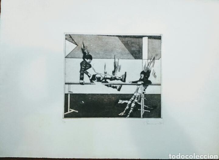 PRUEBA DE AUTOR - PA - IMPACTANTE..ENVIO CERTIFICADO INCLUIDO. (Arte - Dibujos - Contemporáneos siglo XX)