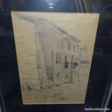 Arte: DIBUJO FIRMADO PINEDA.BUEN TRAZO.. Lote 151553818