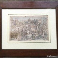 Arte: DIBUJO ANTIGUO FLAMENCO SIGLO XVII. Lote 151675482