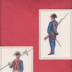 Arte: DIBUJOS ORIGINALES DE FERNANDO GALLEGO UNIFORMES MILITARES ESPAÑA- ALABARDERA DM537. Lote 151712486