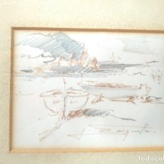 Arte: PINTURA. J. SARQUELLA, S.XX. 26'5X23CM. Lote 151732266
