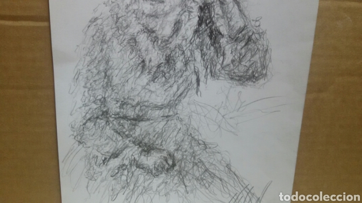 Arte: Dibujo Chica De Paseo original - Foto 4 - 151796164