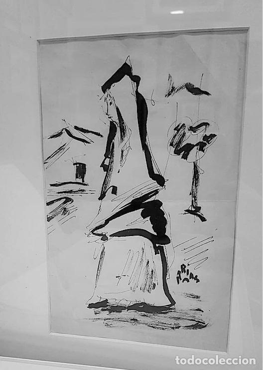 Arte: ARIAS, DIBUJO TINTA FIRMADO - Foto 2 - 152331574
