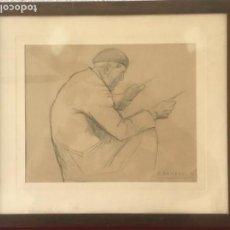 Arte: DIONÍS BAIXERAS VERDAGUER (BARCELONA, 1862 - 1943) DIBUJO A LÁPIZ. . Lote 152771378