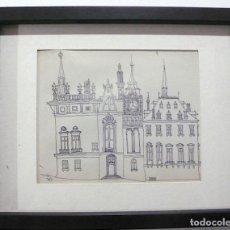 Arte: BOROBIO, DIBUJO TINTA. Lote 153072998