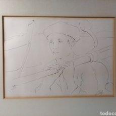 Arte: RIOL - MARAVILLOSO DIBUJO A MANO (MARINA). Lote 153109141