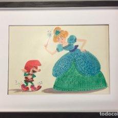Arte: BOADA, ORIGINAL FIRMADO Y CATALOGADO,40X30 CMS. Lote 112350463