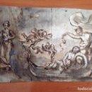 Arte: ANÓNIMO. EL SUEÑO.. Lote 153418682