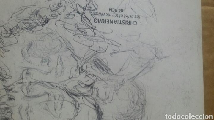 Arte: Dibujo original Chica con bolsa original - Foto 6 - 153595508