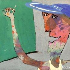 Arte: SABALA - TÉCNICA MIXTA - FIRMADA. Lote 153644254