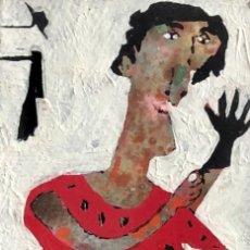 Arte: SABALA - TÉCNICA MIXTA - FIRMADA. Lote 153644390