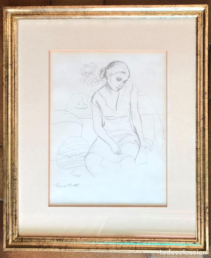 Arte: Ramón Pichot Soler (1924-1987) - Figura - Foto 2 - 154129322