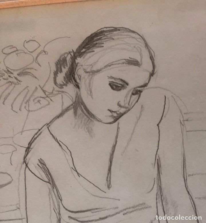 Arte: Ramón Pichot Soler (1924-1987) - Figura - Foto 5 - 154129322