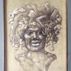 Arte: JESÚS VELASCO ,OBRA ORIGINAL DEL PINTOR VALLISOLETANO,FIRMADO IDEAL COLECCIONISTAS . Lote 154514126