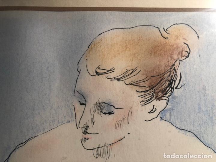 Arte: XAVIER BLANCH, TECNICA MIXTA SOBRE PAPEL. - Foto 6 - 154795658