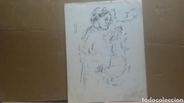 Arte: Dibujo chica tambolirera - Foto 3 - 154858834