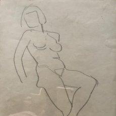 Art - Flotats. Original a lápiz 20,9x26,8 cm - 154955002