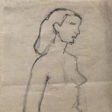 Arte: FLOTATS. ORIGINAL A LÁPIZ 11,6X28,3 CM. Lote 154955546