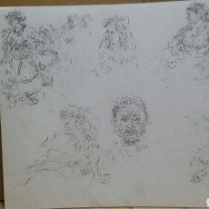 Arte: DIBUJOS VARIADOS CARA A Y B(ORIGINALES). Lote 155176486