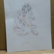 Arte: DIBUJO EROTICO (ORIGINAL ). Lote 155186262