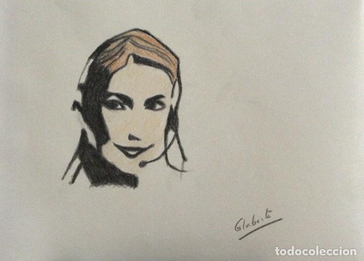 TELEOPERADORA OBRA DE GILABERTE (Arte - Dibujos - Contemporáneos siglo XX)