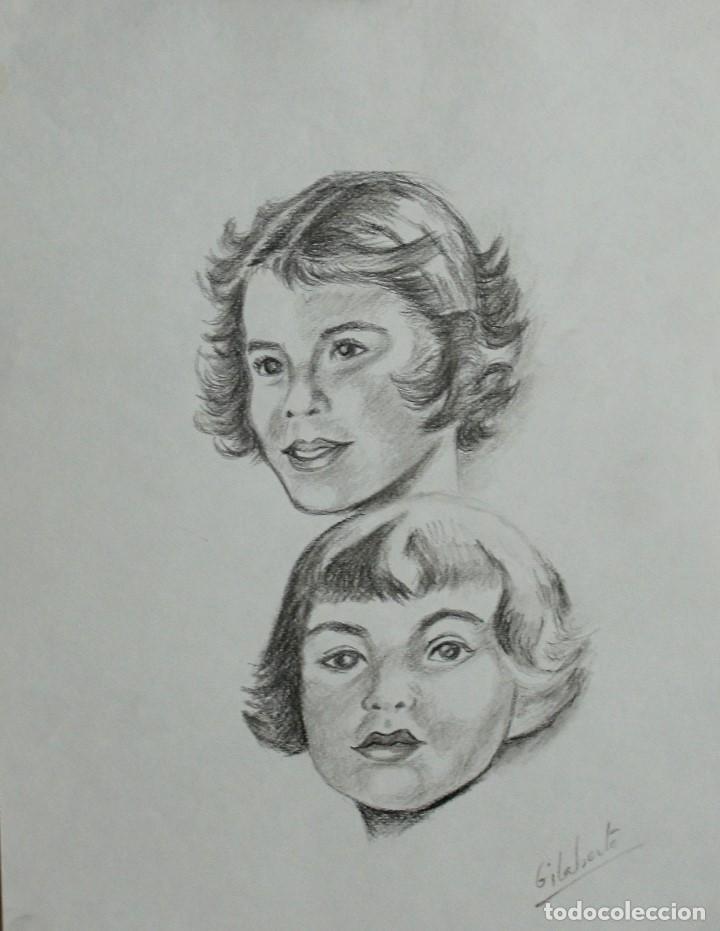 NENAS OBRA DE GILABERTE (Arte - Dibujos - Contemporáneos siglo XX)