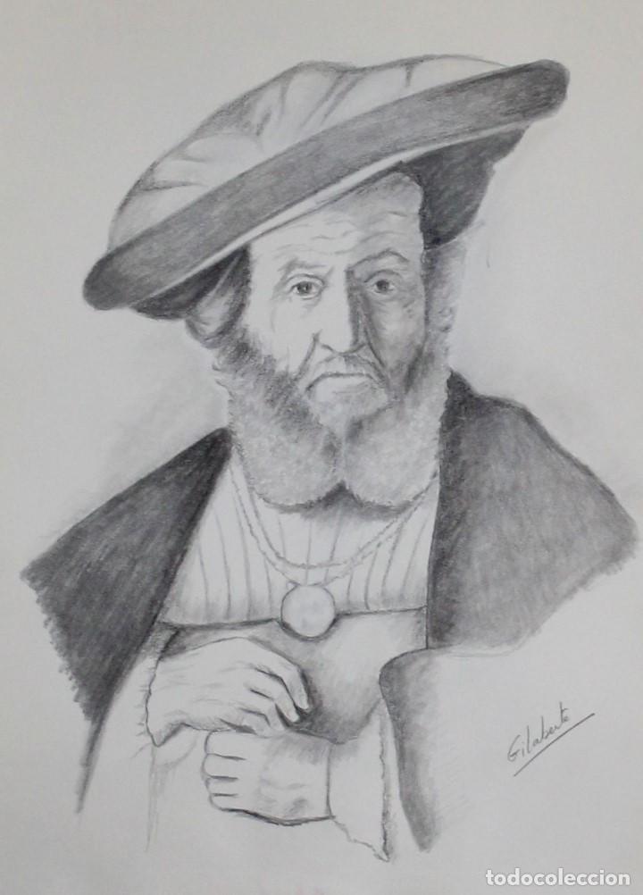RABINO OBRA DE GILABERTE (Arte - Dibujos - Contemporáneos siglo XX)