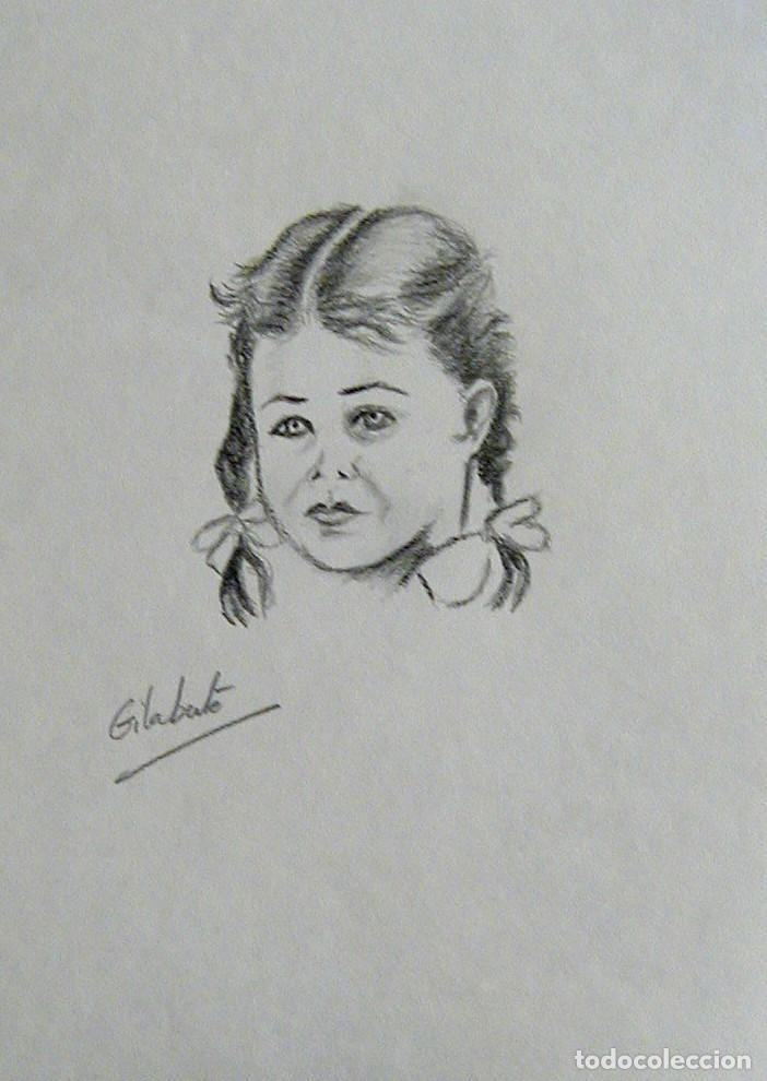 NIÑA OBRA DE GILABERTE (Arte - Dibujos - Contemporáneos siglo XX)