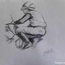 Jinete obra de Gilaberte