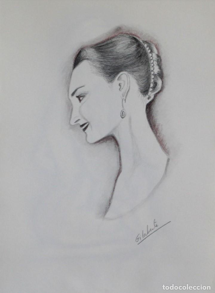 ELEGANCIA OBRA DE GILABERTE (Arte - Dibujos - Contemporáneos siglo XX)