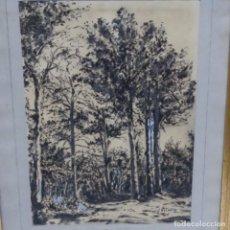Arte: DIBUJO FIRMADO J.VILELLA.. Lote 155533958