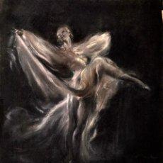 Arte: MONT SERRAT BARTRA - ORIGINAL A PASTEL. Lote 155653014