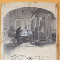 Arte: JOSEP LLUIS PELLICER FENYÉ- ILUSTRACIÓN O BOCETO ORIGINAL PARA LIBRO-( 1842-1901). Lote 155792470
