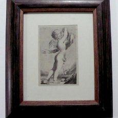 Arte: DIBUJO A LAPICERO Y GOUACH, CLASICO. Lote 155829058