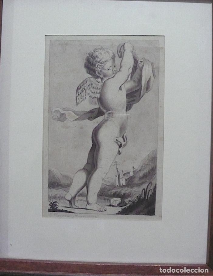 Arte: DIBUJO A LAPICERO Y GOUACH, CLASICO - Foto 2 - 155829058