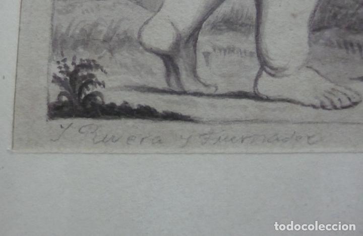 Arte: DIBUJO A LAPICERO Y GOUACH, CLASICO - Foto 4 - 155829058