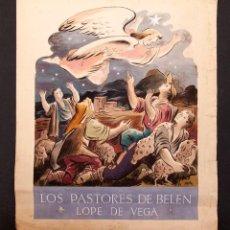 Arte: MORA - ILUSTRACIÓN ORIGINAL PARA PORTADA - 1939. Lote 155934934