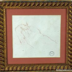 Arte: ESTUDIO MASCULINO DIBUJO HARRY WATSON 1871 1936 SELLO SUBASTAS BONHAMS STUDIO SALE 1994. Lote 156500302