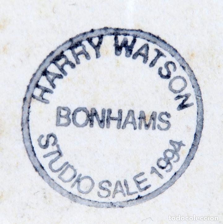 Arte: Estudio masculino dibujo Harry Watson 1871 1936 sello Subastas Bonhams Studio Sale 1994 - Foto 5 - 156500302