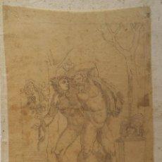 Arte: ESTUDIO NEOCLÁSICO, DIBUJO DEL SIGLO XVIII. Lote 156632858