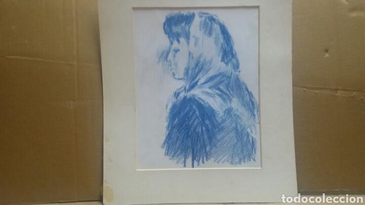 Arte: Dibujo La chica de la aldea original - Foto 2 - 156856586