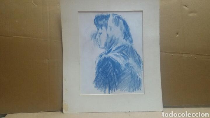 Arte: Dibujo La chica de la aldea original - Foto 4 - 156856586